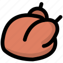 chicken, cooking, foods, kitchen, meat, restaurant icon