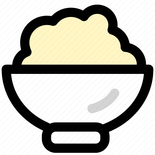 food, foods, restaurant, rice icon