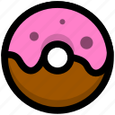 bread, breakfast, donuts, food, foods icon