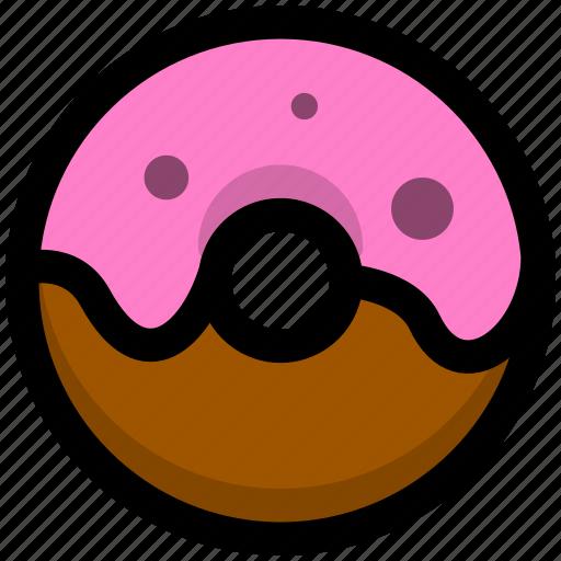 bread, breakfast, donuts, food, foods icon