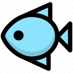 fish, fishing, foods, meal, meat, restaurant, seafood icon