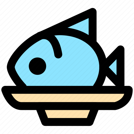 cooking, fish, food, foods, meal, meat icon