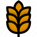crop, food, foods, rice, wheat icon