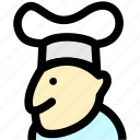 chef, cook, cooking, foods, kitchen, knife icon