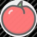 food, fruit, tomato icon