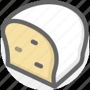 bread, food, sweet icon