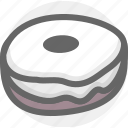 bread, cooking, donute, food icon