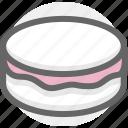 birthday, bread, cake, food icon