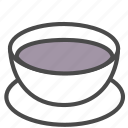 coffee, drink, water icon