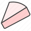 bread, cake, cheese icon