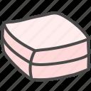 bread, cake, food icon