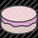 birthday, bread, cake icon