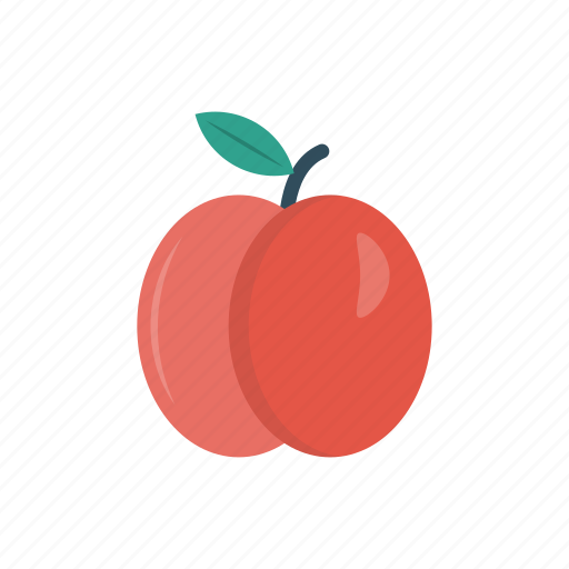 eat, food, fruit, healthy, peach icon