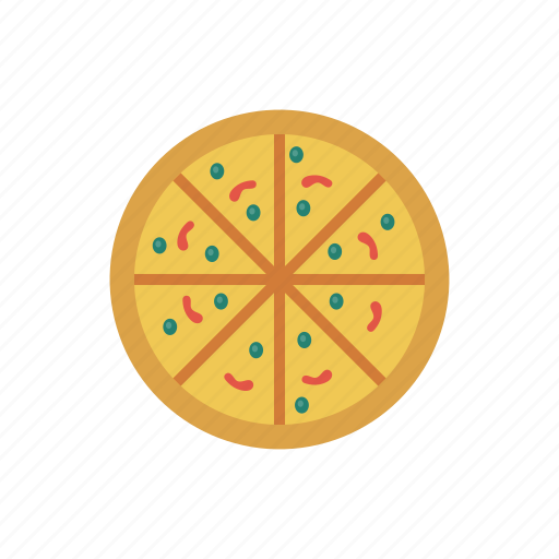 eat, fastfood, lunch, pizza, slice icon
