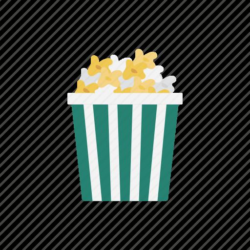 cinema, eat, food, popcorn, snack icon