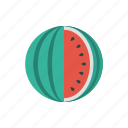 food, fruit, healthy, vitamins, watermelon icon