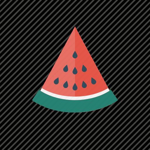 food, fruit, healthy, slice, watermelon icon