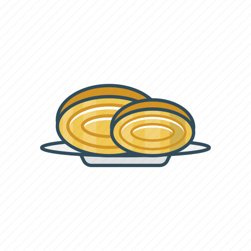 bread, eat, food, meal, plate icon