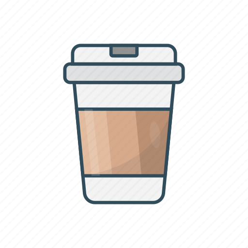 coffee, cup, drink, juice, papercup icon