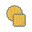 biscuit, cookies, delicious, dessert, sweet icon
