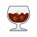 beverage, drink, glass, juice, soda icon