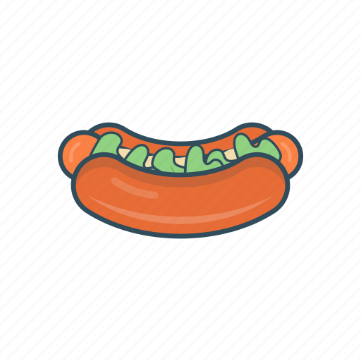 eat, fastfood, hotdogs, lunch, meal icon