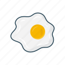 breakfast, egg, food, omelette, yolk icon