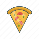 eat, fastfood, meal, pizza, slice icon