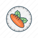 eat, food, leaf, plate, salad icon