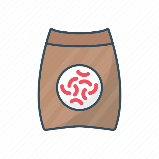 eat, food, meal, sack, seeds icon