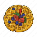 biscuit, cookie, wafer, waffle icon