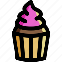 bakery, cake, cooking, cupcake, dessert, food, sweets