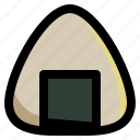 food, healthy, japanese, meal, onigiri, rice, rice ball