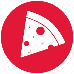 cheese, fast food, food, italian, pizza, slice icon