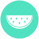 food, fruit, slide, watermelon icon