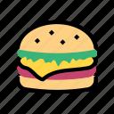 burger, fast food, food, hamburger, menu