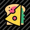 toast, cheese, breakfast, bread