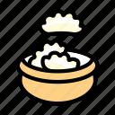 cooking, dumplings, food, meal