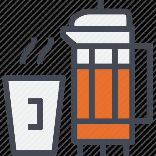 beverage, coffee, drink, hot, restaurant, service, tea icon