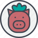 food, grill, pork, steak icon
