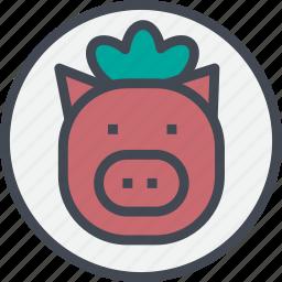food, grill, pork, steak icon