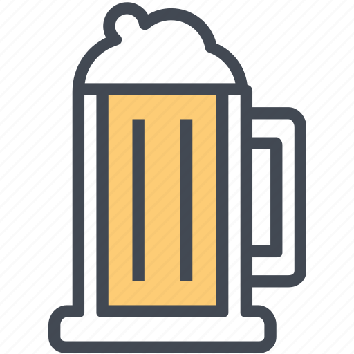 beer, beverage, drink, glass, restaurant, service icon