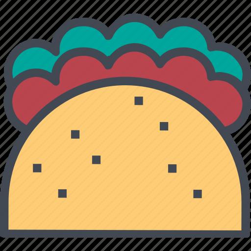 food, restaurant, service, soft, taco, tacos icon