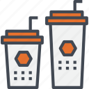 beverage, coffee, drink, restaurant, service, tea icon