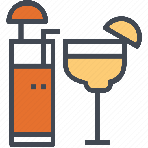 beverage, drink, fruit, juice, restaurant, service icon