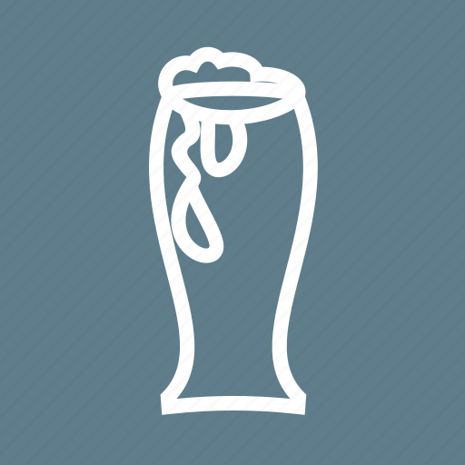 Alcohol, beer, brewery, drink, glass, liquid, pub icon - Download on Iconfinder