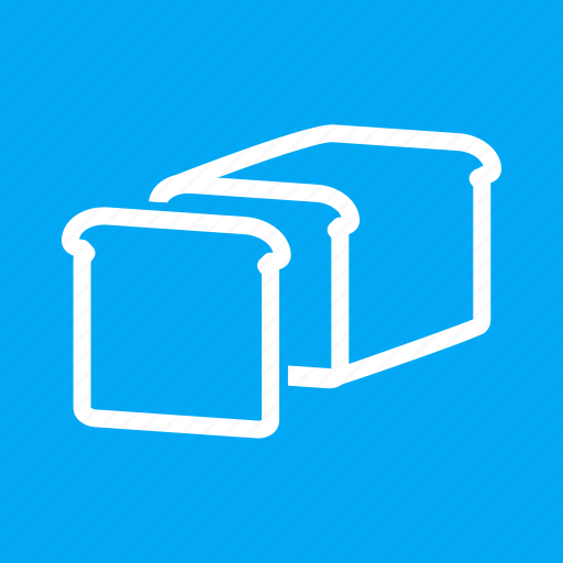 Baked, bakery, bread, breakfast, sandwich, slice, toast icon - Download on Iconfinder