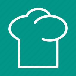 baker, cap, chef, cook, hat, professional, uniform icon