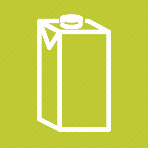 Breakfast, coffee, container, dairy, liquid, milk, milk box icon - Download on Iconfinder