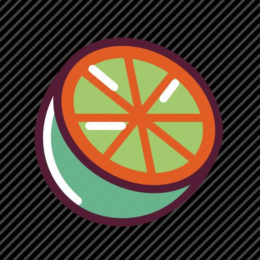 grapefruit, lemon, lime, orange icon